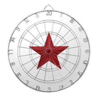 Étoile rouge 3D Jeux De Fléchettes