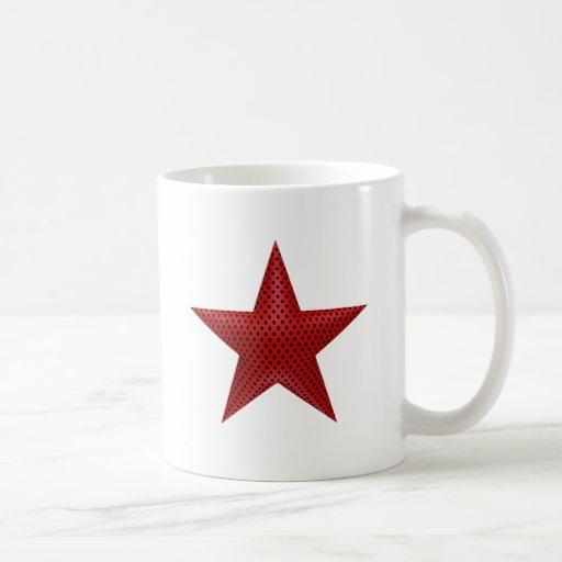 Étoile rouge 3D Mugs À Café