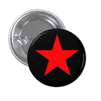 Étoile rouge badge avec épingle