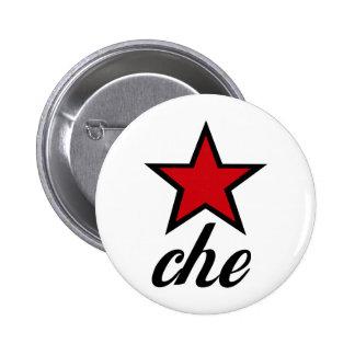 Étoile rouge Che Guevara ! Badge