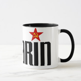 Étoile rouge de Gagarin Mugs