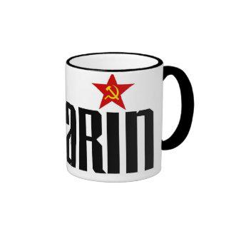 Étoile rouge de Gagarin Mug Ringer