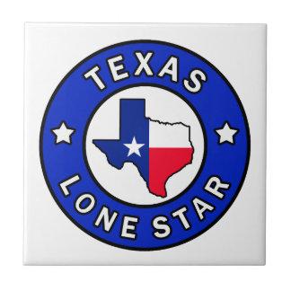 Étoile solitaire du Texas Petit Carreau Carré