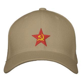 Étoile soviétique casquette brodée