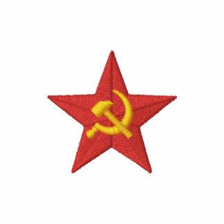 Étoile soviétique sweat avec capuche brodé