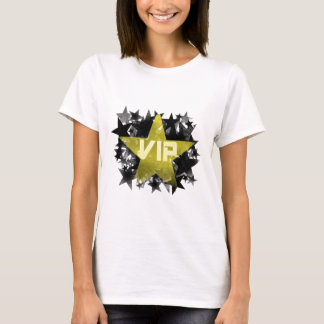 Étoile VIP d'or T-shirt