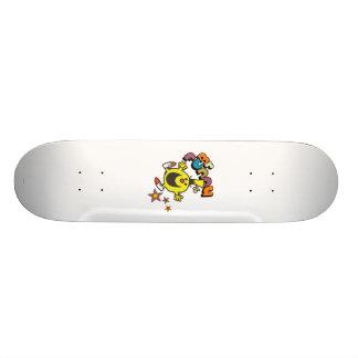 Étoiles brillantes de M. Funny   Skateboard Old School 21,6 Cm