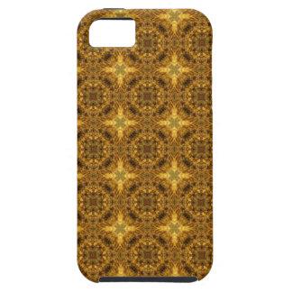 Étoiles de laine d'or coques iPhone 5