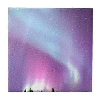 Étoiles de l'Alaska d'hiver de ciel de lumières du Petit Carreau Carré
