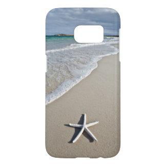 Étoiles de mer sur une plage à distance coque samsung galaxy s7
