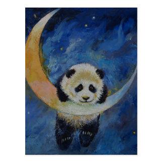 Étoiles de panda carte postale