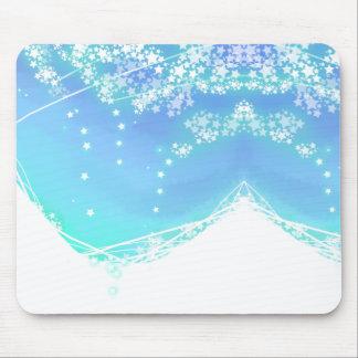 Étoiles de tapis de souris de ciel