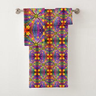Étoiles d'ensembles de serviette de salle de bains