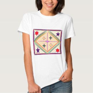 Étoiles du diamant n de NOVINO : Série curative T-shirt