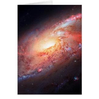 Étoiles d'univers de manière laiteuse d'Andromeda Cartes De Vœux