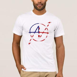 Étoiles et rayures de poids du commerce t-shirt