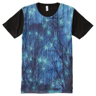 """""""Étoiles filantes """" T-shirt Tout Imprimé"""