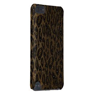 Étoiles noires de guépard de Brown Coque iPod Touch 5G
