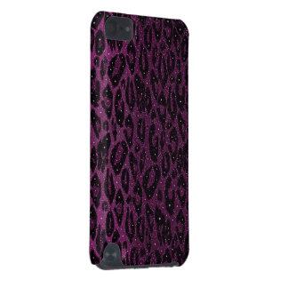 Étoiles noires roses de guépard coque iPod touch 5G