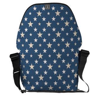 Étoiles orientées américaines sacoche