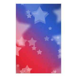 Étoiles patriotiques papeterie
