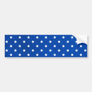 Étoiles sur la texture de tissu par Shirley Taylor Autocollant De Voiture