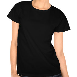 Étrange noir des femmes est rad t-shirt