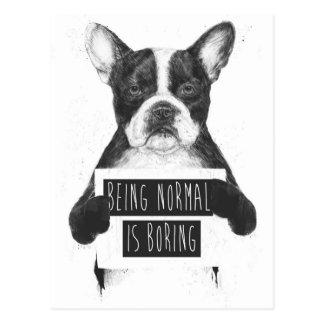 Être normal ennuie cartes postales