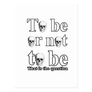 Être ou ne pas être cartes postales