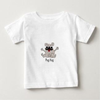 Étreinte de carlin t-shirt pour bébé