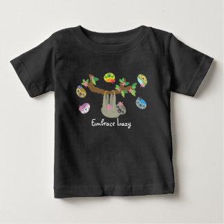 Étreinte paresseuse - chemise décontractée de bébé t-shirt pour bébé