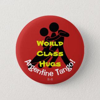 Étreintes de classe du monde - tango argentin badges