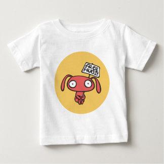 Étreintes de lapin libres t-shirt pour bébé