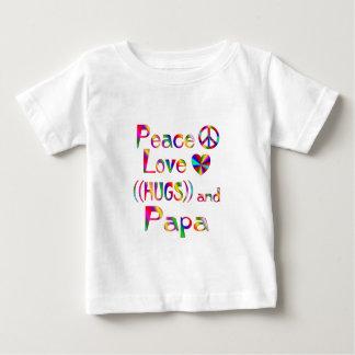 Étreintes de papa t-shirt pour bébé