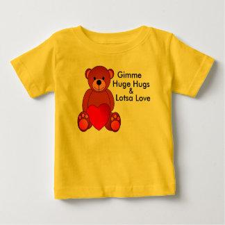 Étreintes et chemise énormes d'amour de Lotsa T-shirt Pour Bébé