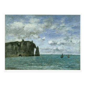 Etretat le Porte d Aval 1890 Carte Postale