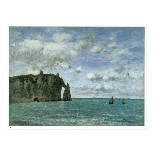 Etretat, le Porte d'Aval, 1890 Carte Postale