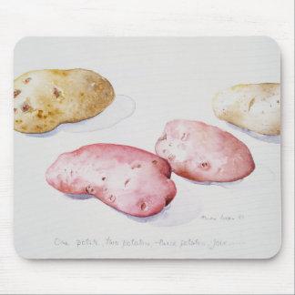 Étude 1993 de pomme de terre tapis de souris