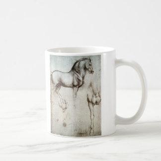 Étude des chevaux - Leonardo da Vinci Mug