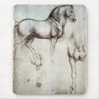 Étude des chevaux - Leonardo da Vinci Tapis De Souris