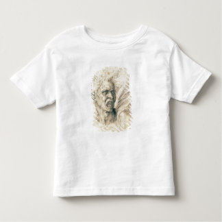 Étude des cris d'homme t-shirt pour les tous petits