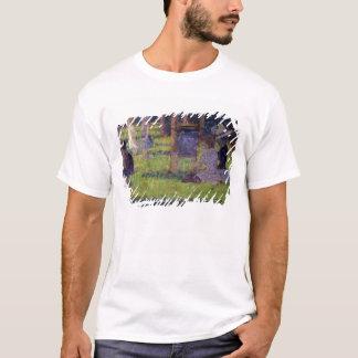 Étude pour 'dimanche après-midi sur l'île de la La T-shirt