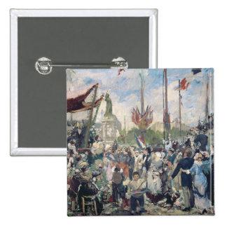 """Étude pour """"le 14 Juillet 1880"""", 1880-84 Badge"""