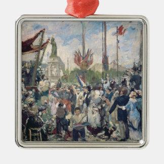 """Étude pour """"le 14 Juillet 1880"""", 1880-84 Ornement Carré Argenté"""