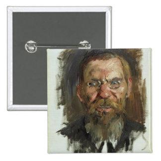 Étude pour un portrait de professeur Dr. Eduard Badge Carré 5 Cm
