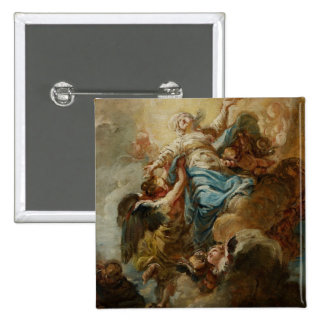 Étudiez pour l'acceptation de la Vierge, c.1760 2 Badge