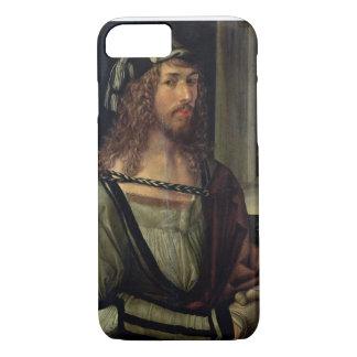 Étudiez pour l'autoportrait avec un gant, c.1498 coque iPhone 8/7