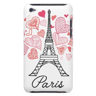 Étui Barely There iPod Amour de Paris, France