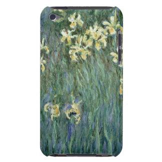 Étui Barely There iPod Claude Monet   les iris jaunes