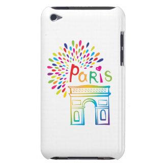 Étui Barely There iPod Conception au néon de Paris France | Arc de